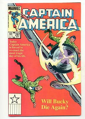 Captain America #297    Will Bucky Die Again?