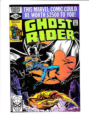 Ghost Rider   No.48     : 1980 :     : Great Bat Cover! :