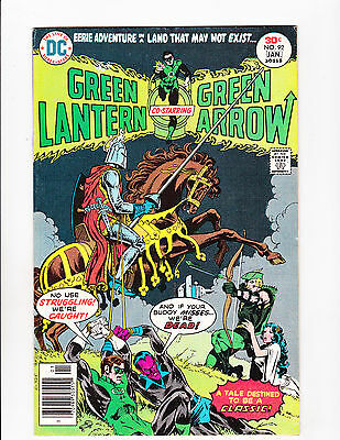 Green Lantern #92  [1977 Vg+]  Knight Cover!