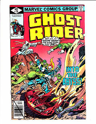 """Ghost Rider   No.39     : 1979 :     : """"Into The Abyss!"""" :"""