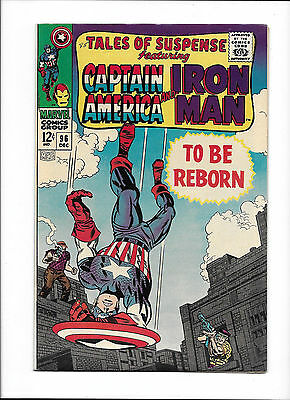 "Tales Of Suspense #96  [1967 Vf+]  ""to Be Reborn"""