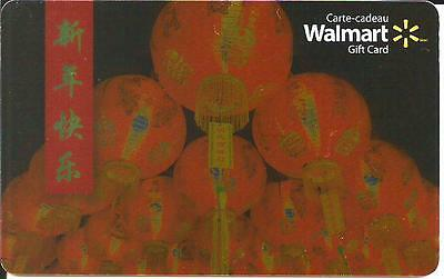 Year Of The Rooster Mint Gift Card From Walmart Canada Bilingual 2017 No Value