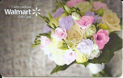 Bouquet Of Flowers Mint Gift Card From Walmart Canada Bilingual