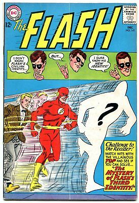 The Flash #141 1963- DC Silver Age- VG