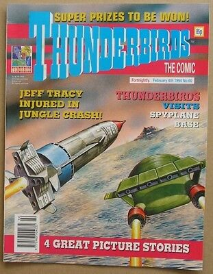 Thunderbirds the Comic Issue 60 from Febuary 1994