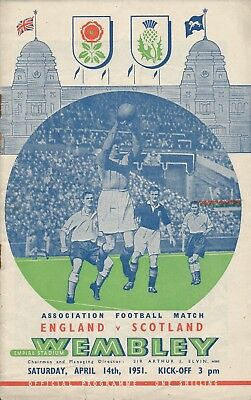 England v Scotland (Home International @ Wembley) 1951