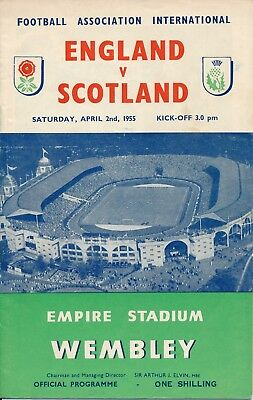 England v Scotland (Home International @ Wembley) 1955