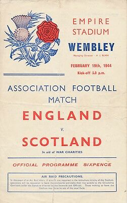 England v Scotland (War-Time International 19.02) 1944