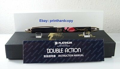 New Platinum Double 3 Action 3 in 1 Maki-e Shikuramen Multi Function Pen !
