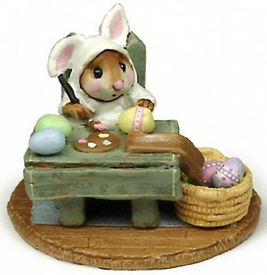 Wee Forest Folk M-175 Mousie's Egg Factory White