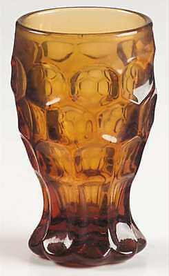 Imperial Glass Ohio PROVINCIAL AMBER Juice Glass 237608