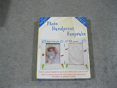 Boxed Photo Handprint Keepsake Complete As To Box Description Srp = $29.99 Nice!