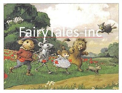 Wee Forest Folk WWO-10 Off to See the Wizard Note Card Set of 6