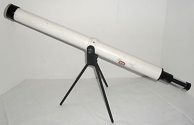 Vtg 1950-60s Spectron PIC Model T-1 Telescope 30 x 40mm Table Top w/Stand & Cap