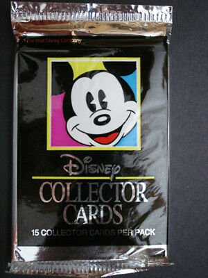 1991 Impel Disney Collector Cards - 3 Packs of Cards - 15 Cards per Pack