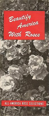 Beautify America With Roses Pamphlet