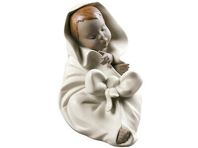 Nao By Lladro All Bundled Up #12033 Brand New In Box Gres Baby Boy Save$ F/sh