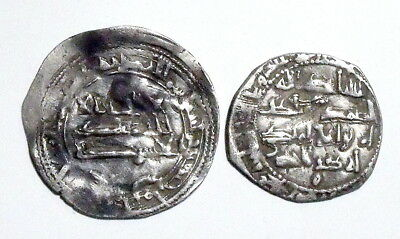 ISLAMIC AL-ANDALUS - Emirate - Lot 2 Silver Coins - TO IDENTIFY