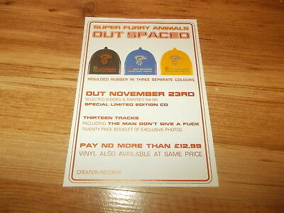 Super furry animals-Out spaced-magazine advert