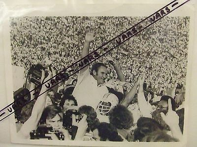 Don Shula Miami Dolphins: Super Boxl Vii 1973 Original Press Photograph: Look !!