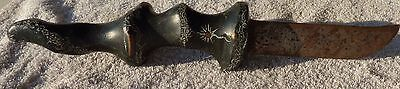 Tribal Knife New Guinea NICE! Looks very old! MUSEUM Piece!!
