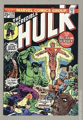 Incredible Hulk (1962-1999 1st Series) #178 FN+ 6.5