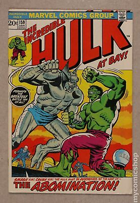 Incredible Hulk (1962-1999 1st Series) #159 FN+ 6.5