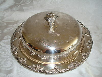 Lipman Bros Old English Reproduction High Domed Covered Muffineer Bowl For Rolls