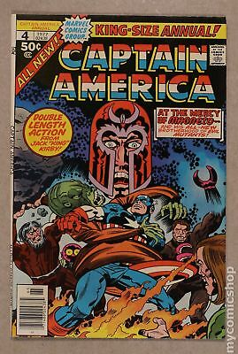 Captain America (1968 1st Series) Annual #4 VF 8.0