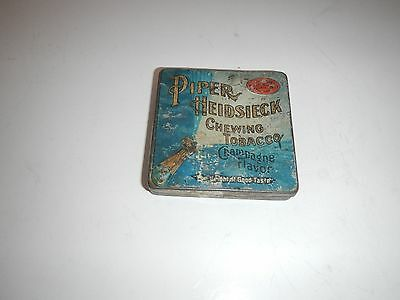Piper Heidsieck chewing tobacco tin - champagne flavor