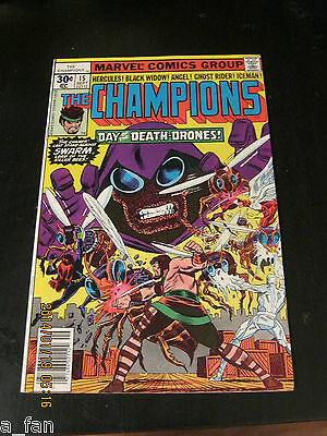 Champions # 15 September 1977 - John Byrne - Swarm Lord of the Killer Bees!!