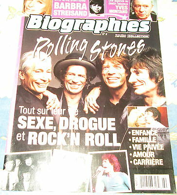 Rolling Stones  Biographie  Special Edition 62 Pages