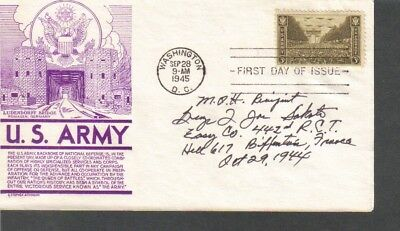 World War II MOH George Sakato signed FDC First Day Cover...