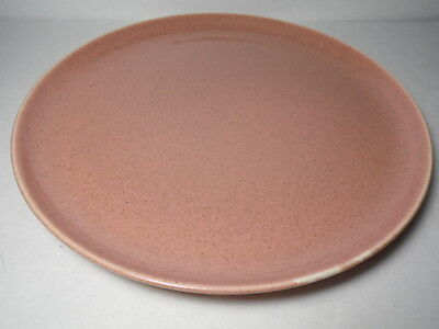 VINTAGE 1939 RUSSEL WRIGHT RW Mid Century Modern STEUBENVILLE CORAL DINNER PLATE