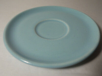 1955 RUSSEL WRIGHT Mid Century Modern STEUBENVILLE Glacier BLUE SAUCER CUP PLATE