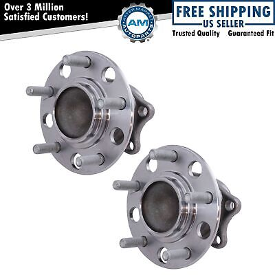 Rear Wheel Bearing & Hub Assembly LR & RR Pair for Mitsubishi Lancer Outlander