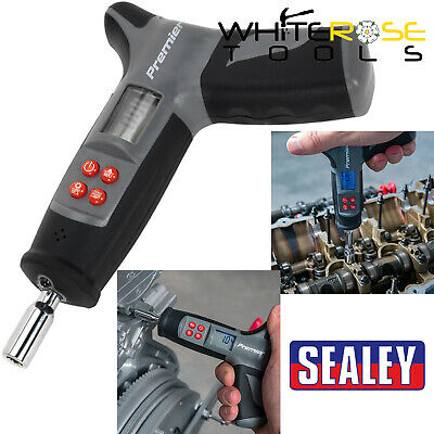 "Sealey Premier 1/4"" Hex Digital Torque Screwdriver 0-20Nm T-Handle 170mm"