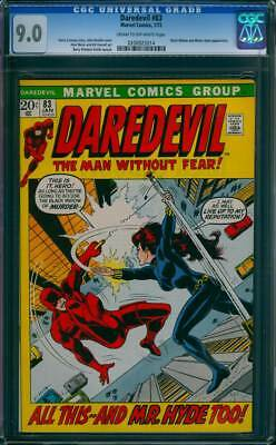 Daredevil # 83  All This...and Mr.Hyde Too !  CGC 9.0 scarce book !
