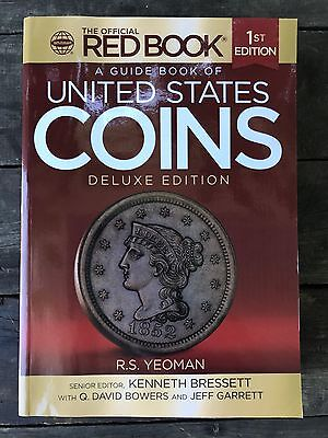 Official Mega Red Book A Guide Book of United States Coins Deluxe Edition Yeoman