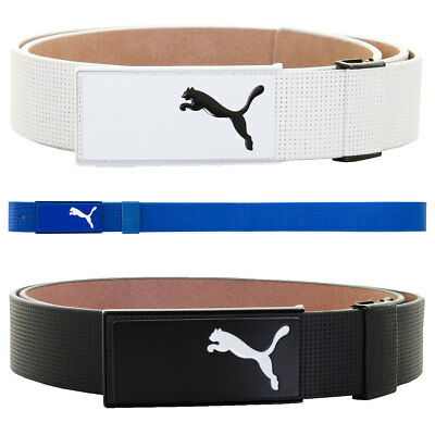 Puma Golf 2017 Mens All In One CTL Belt Metal Buckle Leather