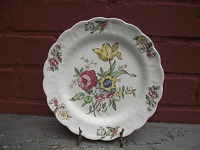Vtg Booths 9 ¾ Inches Salad / Starter Plate Plymouth Pattern A8007