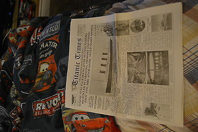 Titanic Times Maritime Museum of the Atlantic collectable newspaper phamplet