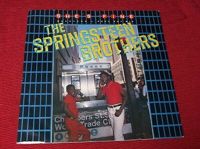 "Springsteen Brothers:  She's Fine   12""   EX"