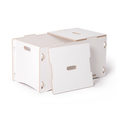Sprout Toy Box, White - TYB001-WHT
