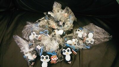 35 NEW tagged  TY Beanie Boo's   Key clips WADDLES THE PENGUIN BARGAIN