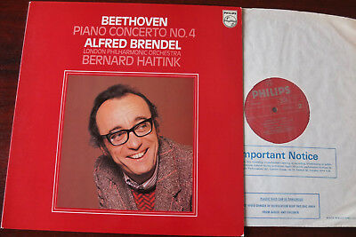 Philips 9500 214 Beethoven Piano Conc 4 Lp Brendel Nm (1979) England