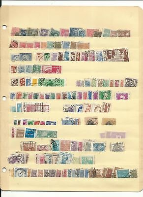 Brazil & Argentina Collection on Stock Sheet & Page, Nice Selection Lot
