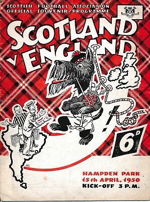 Scotland v England (Home International) 1950