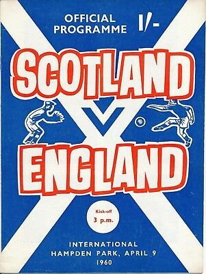 Scotland v England (Home International) 1960