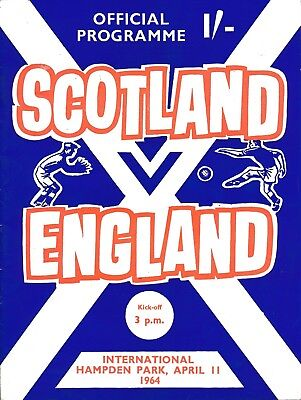Scotland v England (Home International) 1964